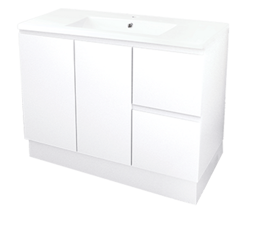 Vanity Bloom Vanity 900mm Complete 77072 Everhard