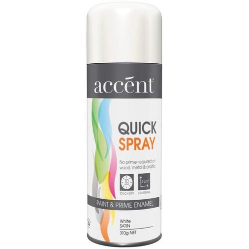Paint Spray Quickspray 300g  Neon Green 83JM0158 Accent