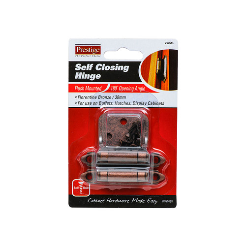 38MM PK2 HINGE SELF CLOSING F/M