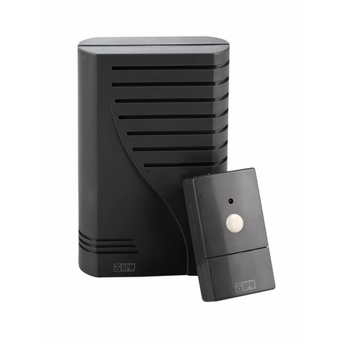CHIME DOOR LONG RANGE WIRELESS CHARCOAL