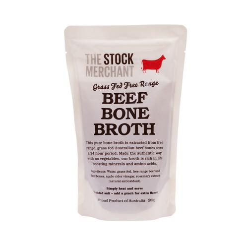 The Stock Merchant Bone Broth Grass Feed Beef
