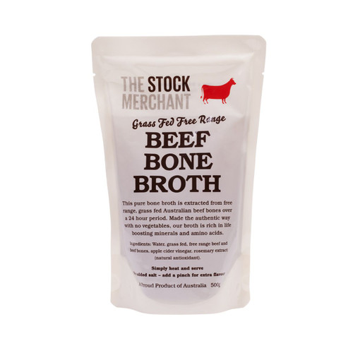 The Stock Merchant Bone Broth Grass Feed Beef