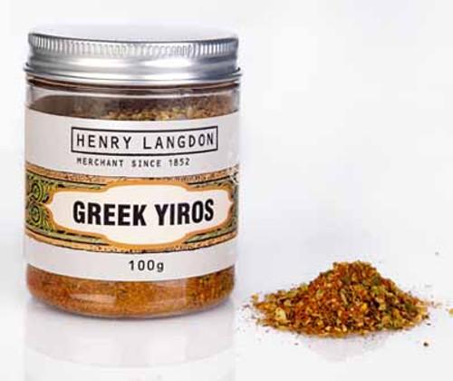 Henry Langdon Greek Yiros