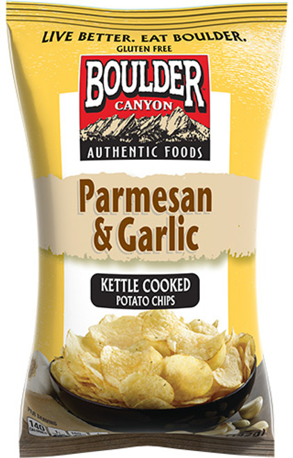 Boulder Canyon Chips Parmesan & Garlic Kettle Chips