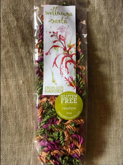 Willunga Gluten Free Pasta Rainbow Fusilli