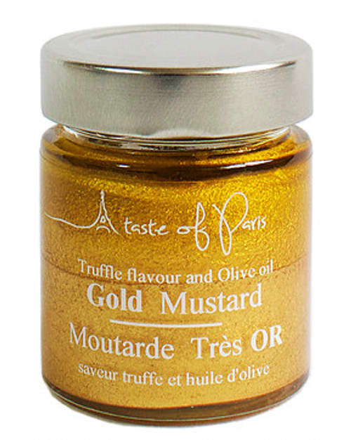 A Taste of Paris Gold Truffle Mustard