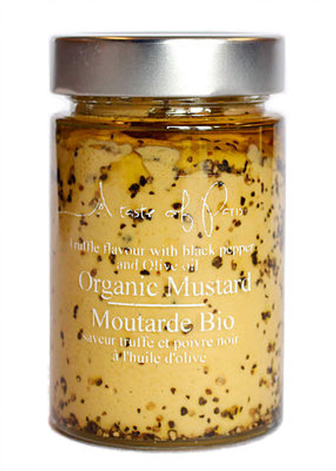 A Taste of Paris Mustard Black Truffle Black Pepper
