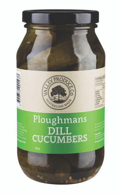Valley Produce Ploughmans Dill Cucumber