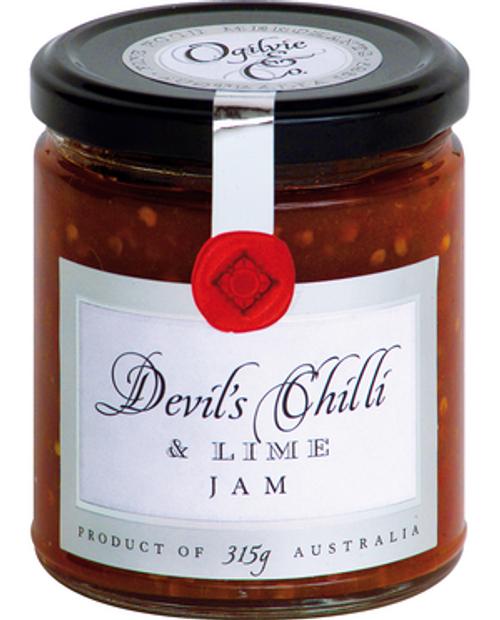 Ogilvie & Co Devil's Chilli and Lime Jam