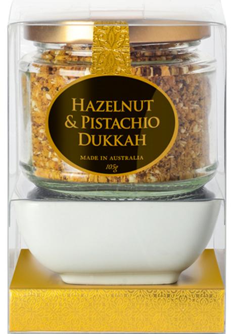 Ogilvie & Co Dipping Bowl Set Hazelnut & Pistachio Dukkah