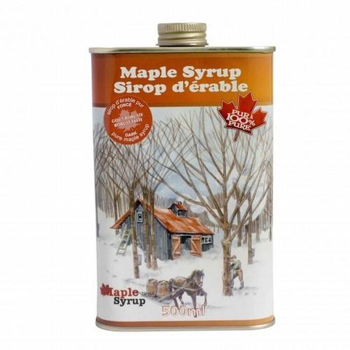 Escuminac Maple Syrup Square Tin