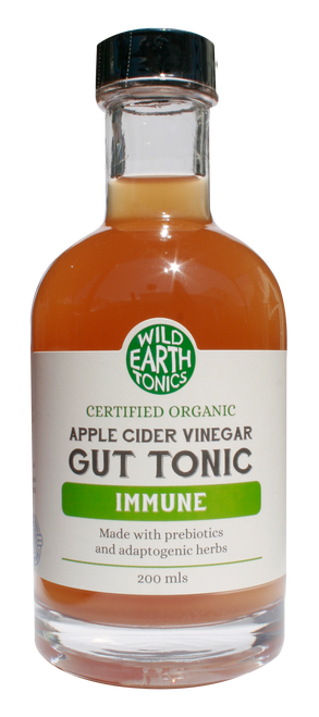 Wild Earth Tonics Organic Apple Cider Vinegar Immune Gut Tonic