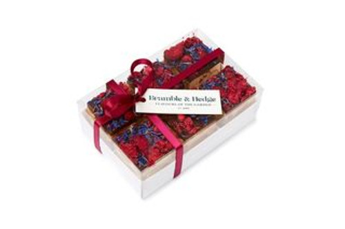Bramble & Hedge Gift Box Nougat Lemon with Raspberry and Dark Chocolate