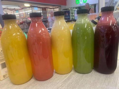 Fresh Juice 1 litre Apple, Lime, Lemon,  Ginger