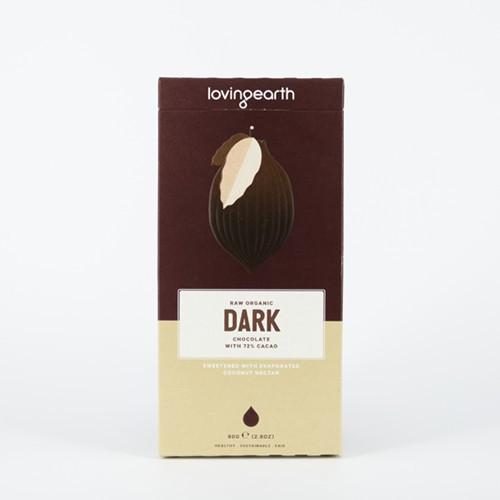 Loving Earth 72% Dark Chocolate