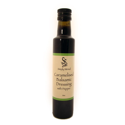 Simply Stirred Caramelised Balsamic Dressing with Pepper