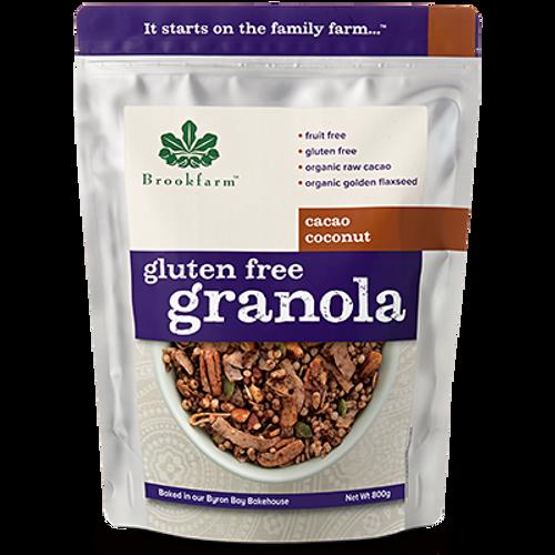 Brookfarm Gluten Free Granola Cacao Coconut Box
