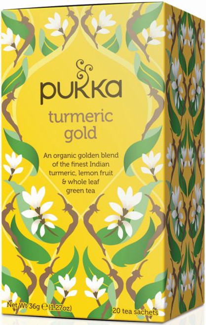Pukka Tea Turmeric Gold Tea x 4