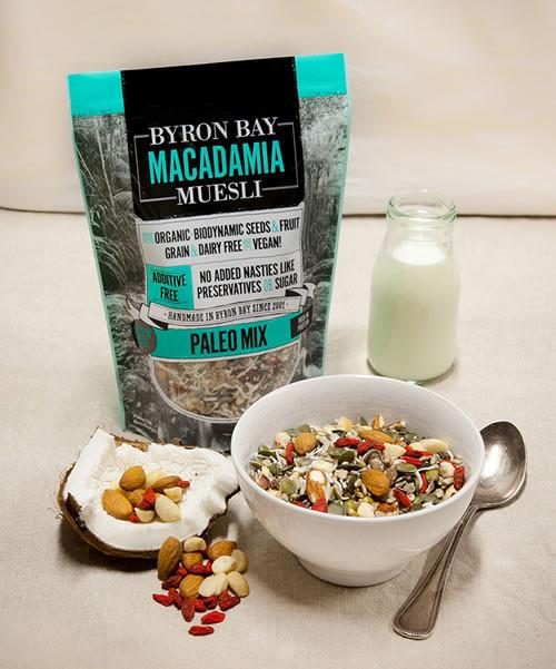Byron Bay Macadamia Muesli Paleo Muesli