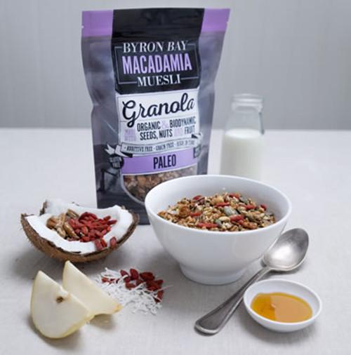 Byron Bay Macadamia Muesli Paleo Granola