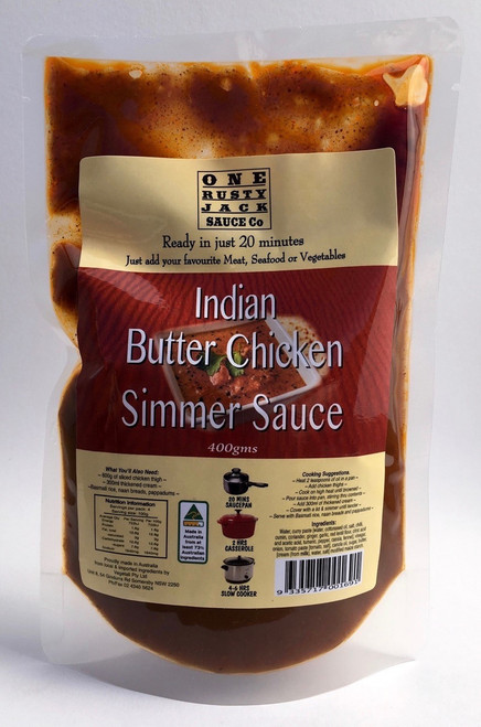 One Rusty Jack Simmer Sauce Butter Chicken