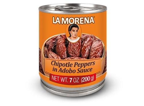 La Morena Chipotle Peppers in Adabo Sauce 200g