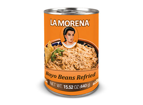 La Morena Bayo Beans Refried