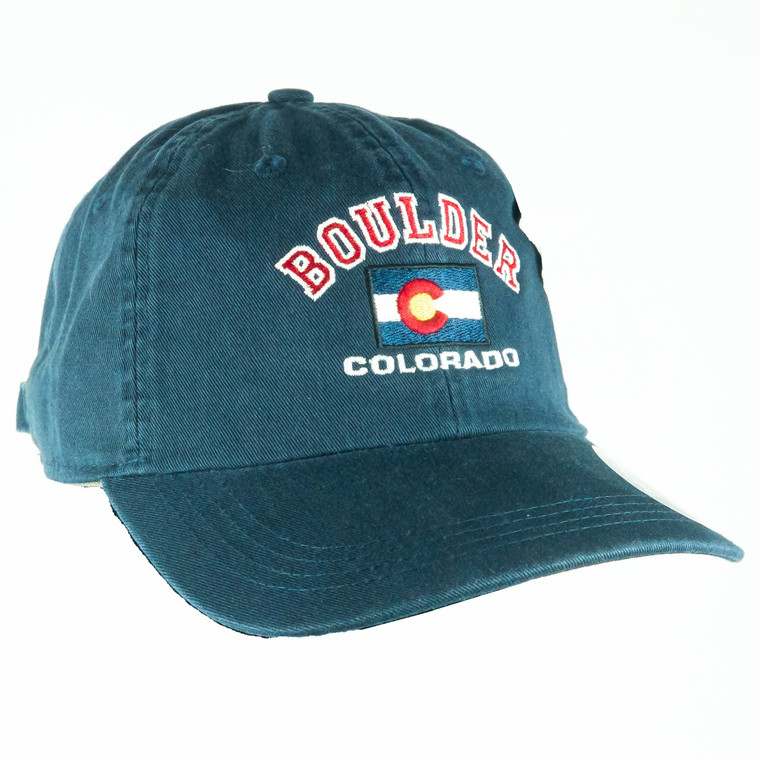 Colorado State Flag Adjustable Hat, navy