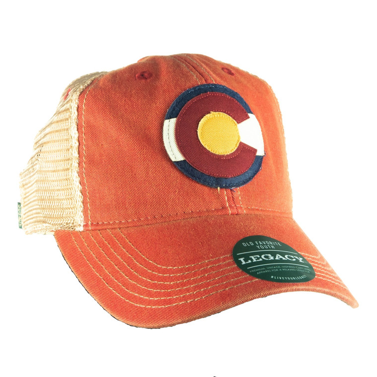 Children's Colorado Flag Adjustable Hat