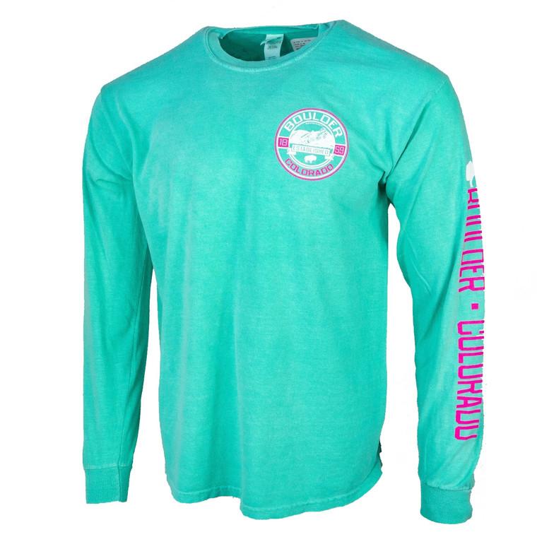 Men's Long Sleeve Boulder Elevation T-Shirt