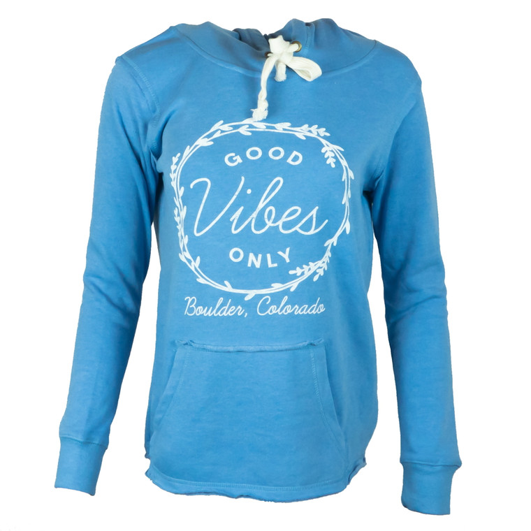 Women's Boulder Good Vibes Whisp Fleece Hoodie