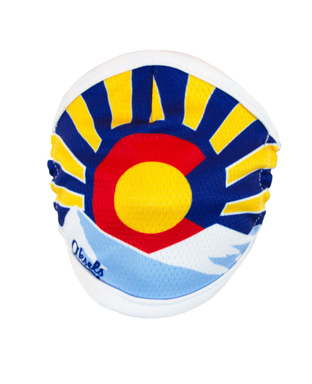 Colorado Sunset Face Mask