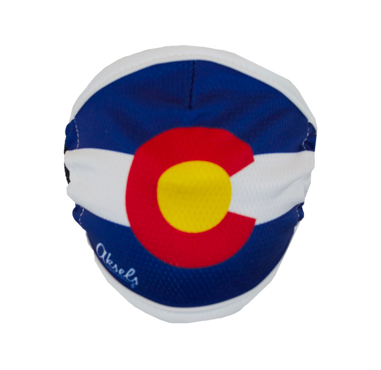 Colorado State Flag Face Mask