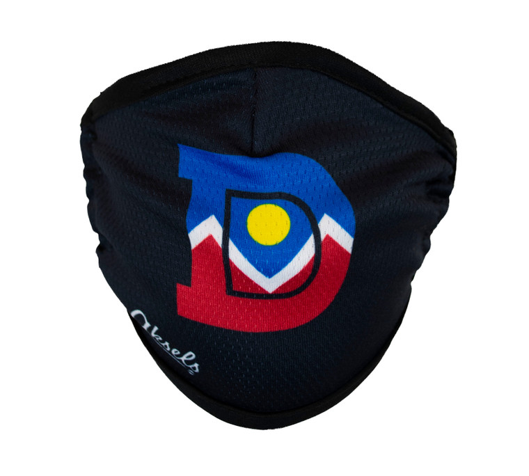 "Denver ""D"" City Flag Face Mask"
