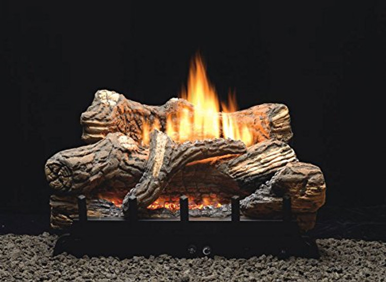 "Empire Comfort Systems Flint Hill Manual 5-piece 18"" Ceramic Fiber Log Set - Natural Gas"
