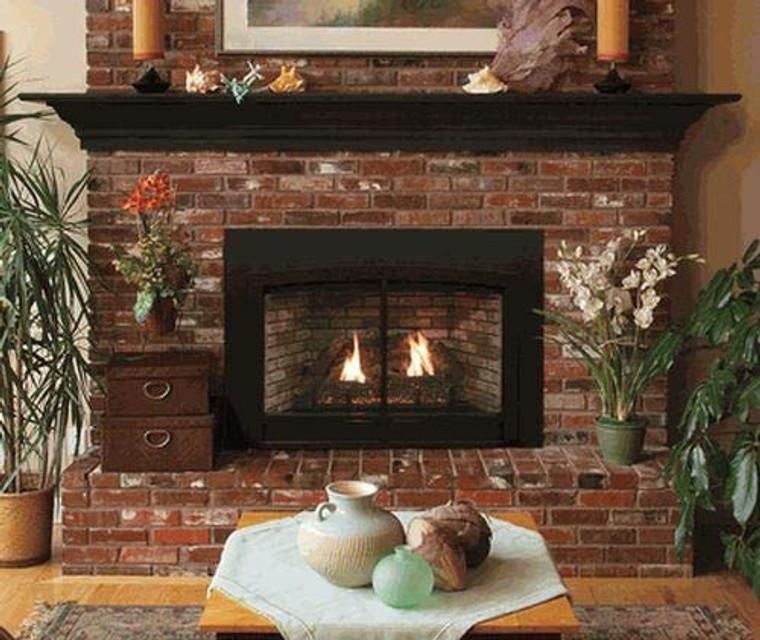 Empire Innsbrook Medium DV Clean Face IP Fireplace Insert - NG