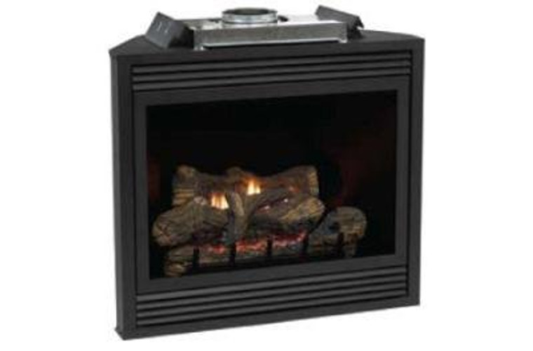 """Empire Tahoe Deluxe 36"""" Direct-Vent NG Millivolt Fireplace"""
