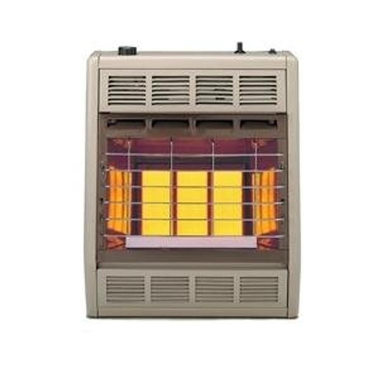 Empire Infrared Heater Liquid Propane 18000 BTU, Thermostatic Control