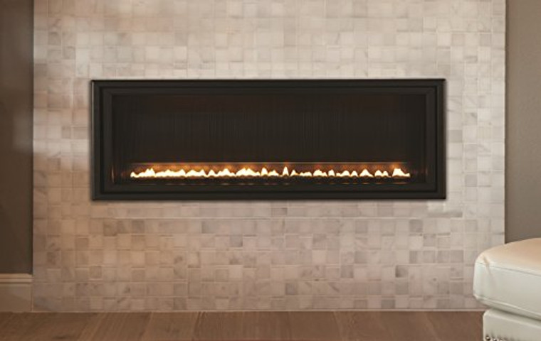 Empire Comfort Systems Boulevard Millivolt Contemporary 48-inch Linear Vent-Free 40k BTU Fireplace - Liquid Propane