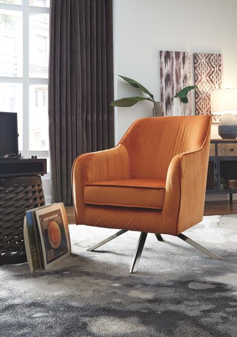 Hangar Orange Accent Chair