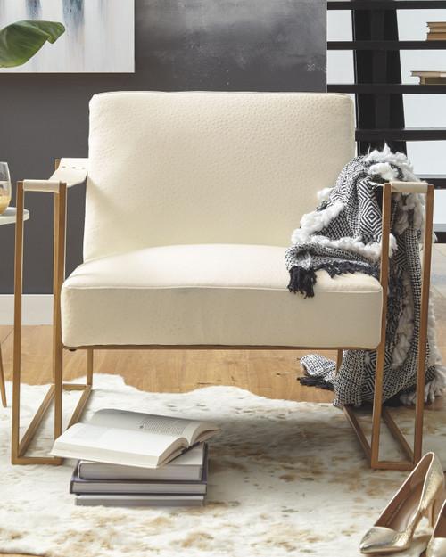 Kleemore Cream Accent Chair