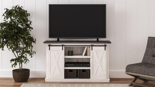 Dorrinson Two-tone Medium TV Stand