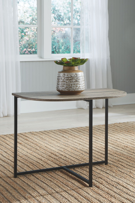 Wadeworth Two-tone Chair Side End Table