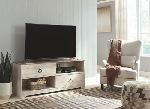 Willowton Whitewash Large TV Stand