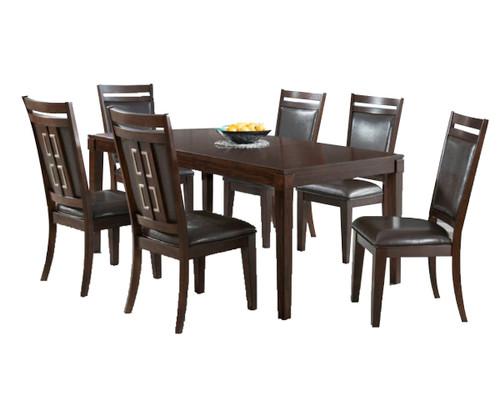 "RODNEY 74""  DINING TABLE 5 PC SET"