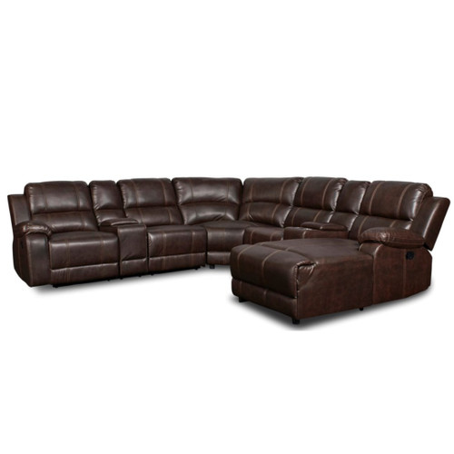 RIVERS RECLINING 4-PC SECTIONAL