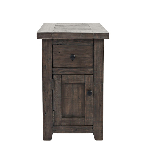 MADISON COUNTY CHAIRSIDE END TABLE