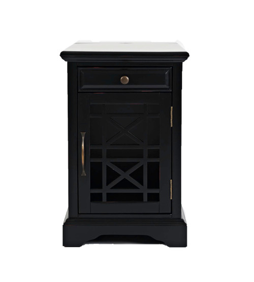 CRAFTSMAN POWER CHAIRSIDE TABLES-BLACK