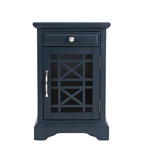 CRAFTSMAN POWER CHAIRSIDE TABLES-NAVY