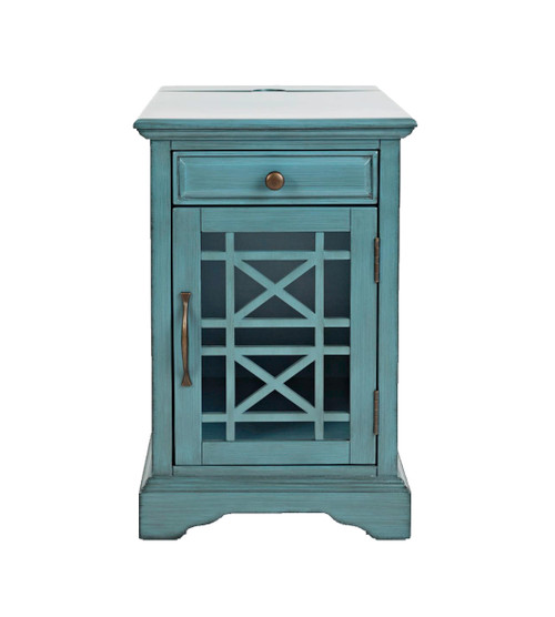 CRAFTSMAN POWER CHAIRSIDE TABLES-BLUE